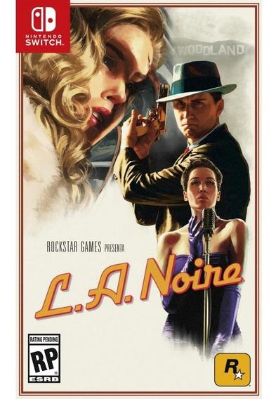 L.a. Noire Switch Mídia Física Lacrado Original