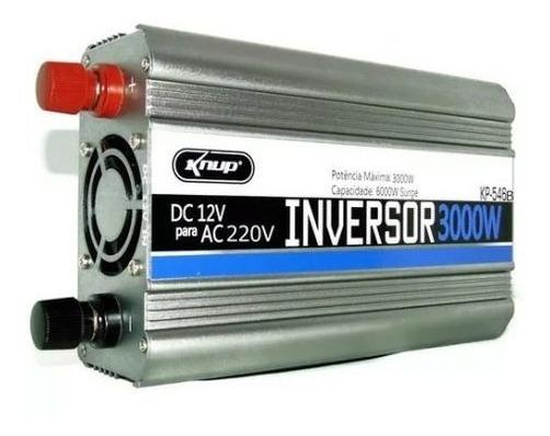 Inversor De Tensão Veicular 12v Para 220v 3000w Knup