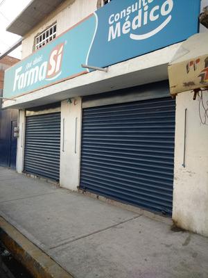 Terreno En Ecatepec Con Departamento Y Accesoria , Renta