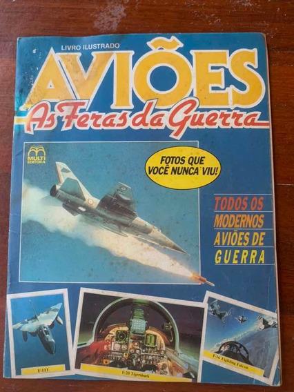 Álbum De Figurinhas Aviões De 1987