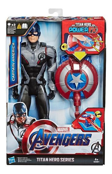 Muñeco Capitan America Hasbro E3301 Avengers Titan Hero
