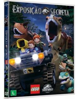 Dvd Lego Jurassic World - A Exposição Secreta - Lacrado