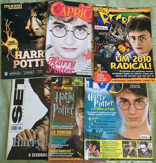 Revistas Harry Potter - Kit Com 16 (colecionador)