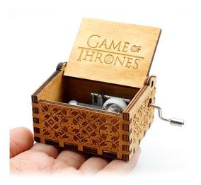 Caixinha Caixa De Música Game Of Thrones (manivela) Linda