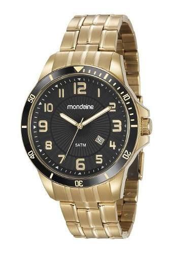 Relógio Masculino Dourado 78758gpmvda2 Original - Frete Grátis Garantia E Nota Fiscal