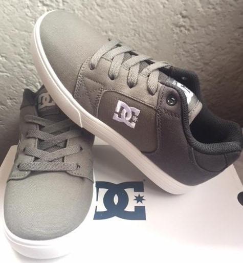 Tenis Dc Shoes Method Tx Gray Tallas 22.5cm A 24.5(reducido)