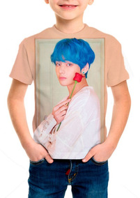 Camiseta Infantil Grupo Bts (bangtan Boys) Persona V - M001