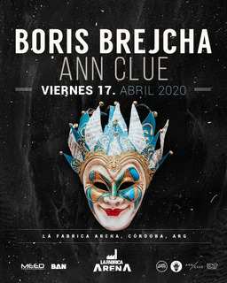 Entradas Vip Boris Brejcha - La Fabrica Cordoba- 17 De Abril