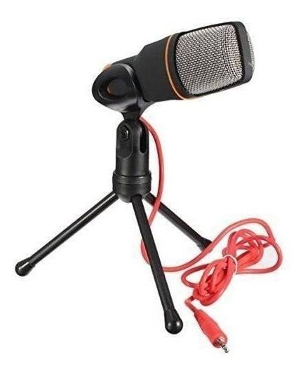 Microfone Condensador Com Tripé - Para Youtubers - Original