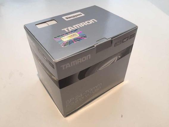 Lente Para Canon Ef - Tamron Sp 24-70mm F/2.8 Di Vc Usd