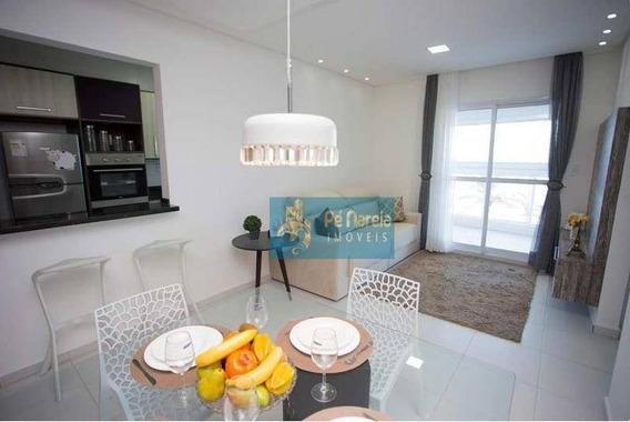 Apartamento Com 2 Dormitórios, 1 Suíte, Sacada Gourmet, 1 Vaga, À Venda, 69 M² Por R$ 112.710 - Jardim Marina - Mongaguá/sp - R2m21a - Ap0103