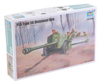 Trompetista 1/35 Ejército Chino 56 Fórmula 85mm Cañón Pl