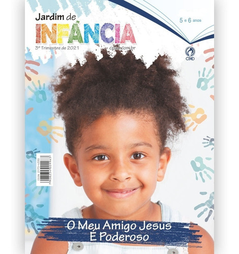 Imagem 1 de 4 de Revista Ebd Jardim De Infância - Professor 3º Trimestre 2021