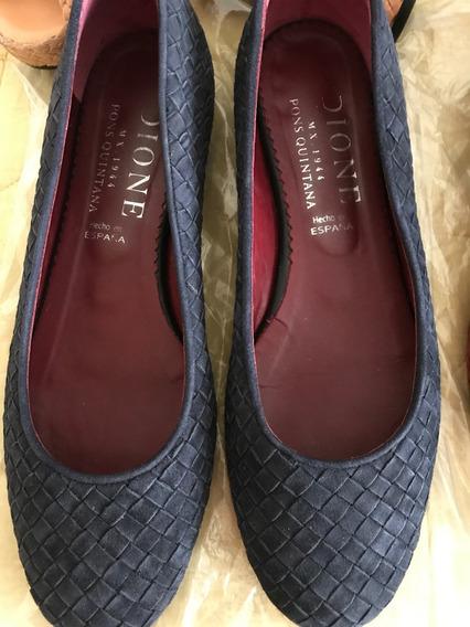 Zapatos Pons Quintana Azul No.5
