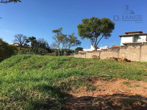 Terreno À Venda, 595 M² Por R$ 360.000 - Vila D'agostinho - Valinhos/sp - Te3519