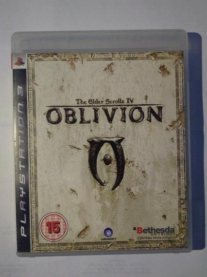 Jogo The Elder Scrolls Iv Oblivion Ps3 Física R$69,90