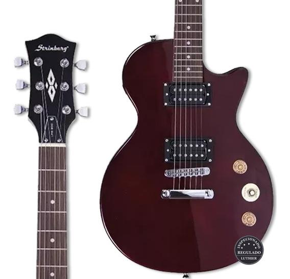 Guitarra Strinberg Lps 200 Vinho Regulada Promoção! Oferta!