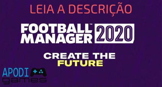 Football Manager 2020 + Fm Touch (fm Brasileiros)