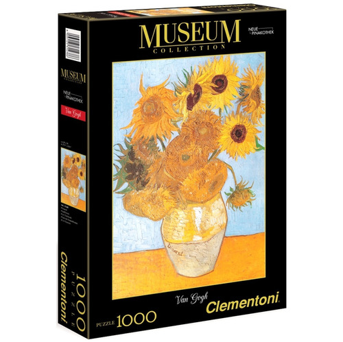 Rompecabeza Puzzle X 1000 Los Girasoles Mundo Clementoni Ful