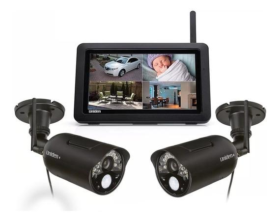 Kit 2 Cámaras De Seguridad Inalámbrica Uniden Udr744+ Tablet