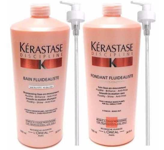 Kerastase Kit Discipline Fluidealiste Shampoo + Acond X 1000