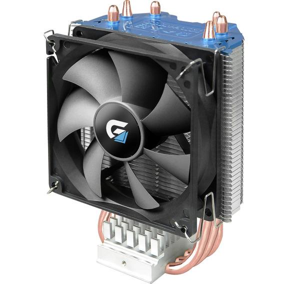 Cooler Para Cpu Gamer Air4 | Preto Fortrek