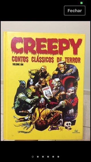 Livro - Creepy: Contos Clássicos De Horror Vol. 1