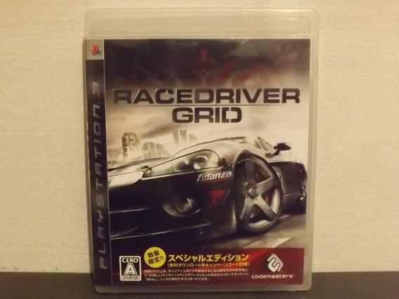 Ps3 Grid 1 Racedriver - Japonês - Completo - Aceito Troca...
