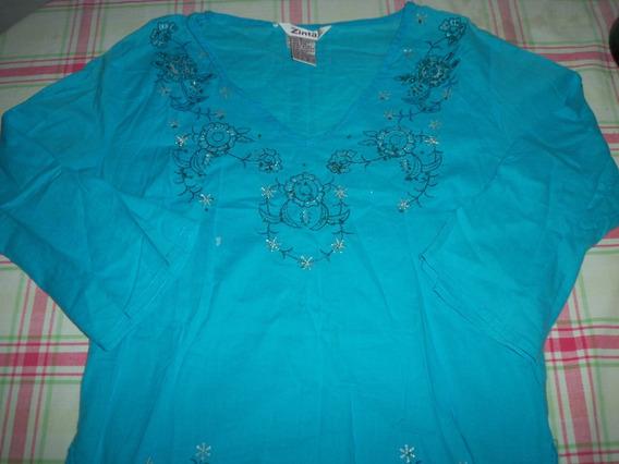 Camisa De Dama O Niña Adolescente Tipo Hindu Talla 16 O Ss