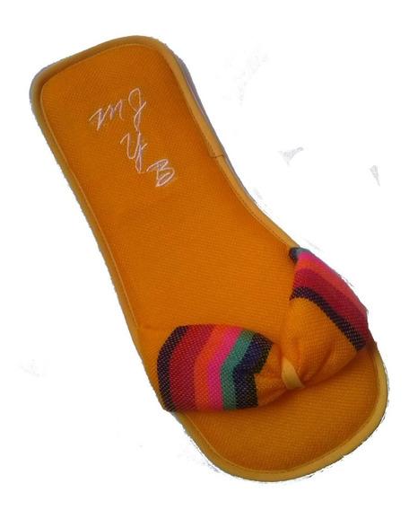 Pantuflas De Rebozo