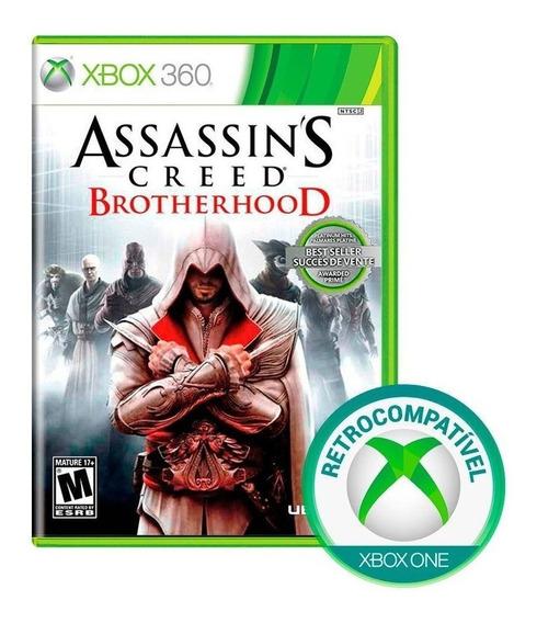 Lacrado Assassins Creed Brotherhood Xbox 360 One Mídiafísica