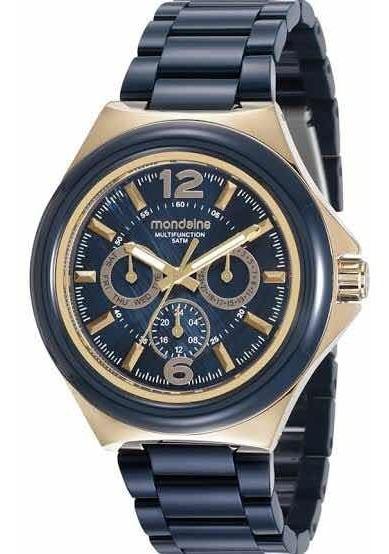 Relógio Mondaine Feminino Azul