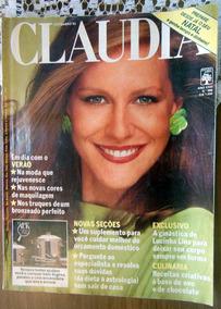 Revista Claudia 266 Lucinha Lins Antônio Fagundes Nov 1983