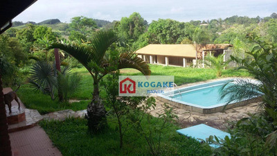 Chácara Com 3 Dormitórios À Venda, 4000 M² Por R$ 670.000 - Capuava - São José Dos Campos/sp - Ch0095
