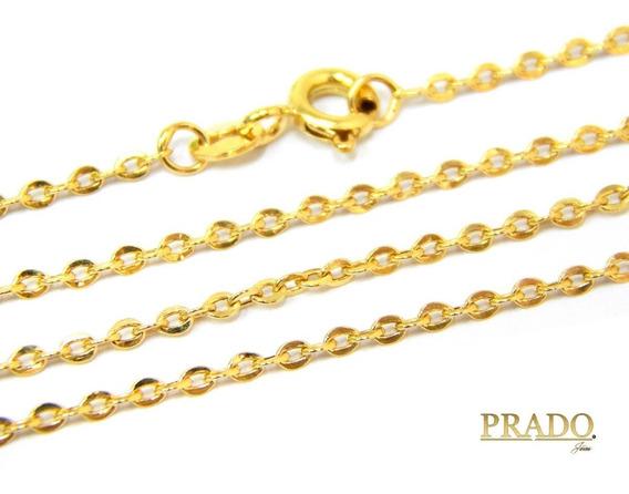 Corrente Cordão Cartier 60cm Em Ouro 18k