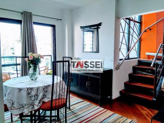 Cobertura Com 2 Dormitórios À Venda, 150 M² Por R$ 1.540.000 - Vila Olímpia - São Paulo/sp - Co0051