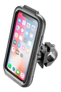 Suporte Para Moto Icase Interphone Guidão Moto iPhone X