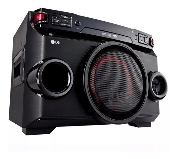 Mini System Lg Om4560 Multi Bluetooth Usb Mp3 200w Novo