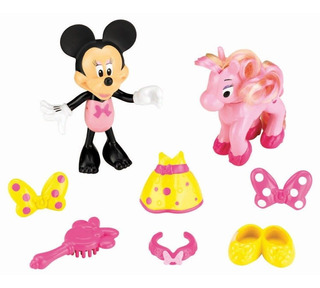 Minnie Mouse Con Pony Original!! Fisher Price!!