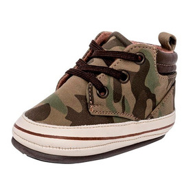 Tenis Sneaker Bota Ensueño Niños Textilsint Verde Dtt 22597