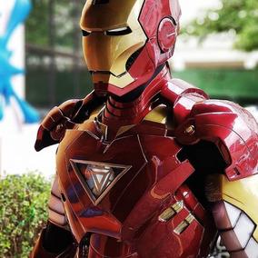 Armadura Homem De Ferro Iron Man Vingadores Alta Qualidade