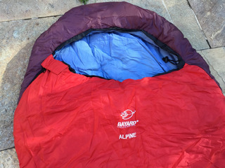 Saco De Dormir Alpine Bayard Para Até - 10graus