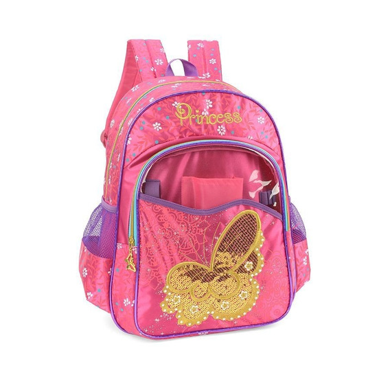Mochila Princess 32793 Rosa - Original