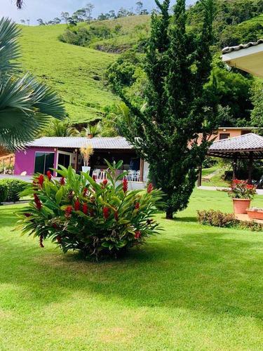 Chácara Com 5 Dormitórios À Venda, 181500 M² Por R$ 1.300.000,00 - Zona Rural - Macaé/rj - Ch0001