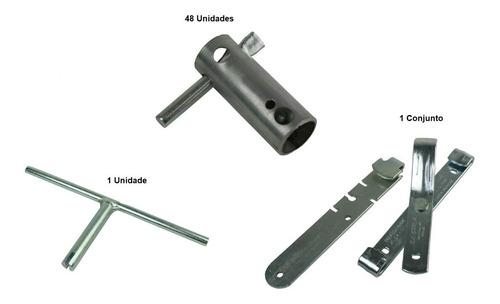 Imagem 1 de 4 de Kit Cerca: Est. Bobs + Chave Esticador Arame + Alicate/chave
