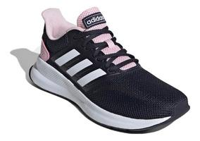 e4ce4f8b adidas Zapatillas Running Mujer Run Falcon Marino - Rosa