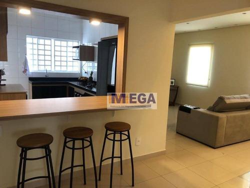 Imagem 1 de 19 de Casa Com 3 Dormitórios À Venda, 139 M² Por R$ 800.000,00 - Jardim Chapadão - Campinas/sp - Ca2228