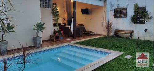 Sobrado De Alto Padrão No Centro Com 5 Dormitórios À Venda, 280 M² Por R$ 1.600.000 - Centro - Ubatuba/sp - So0001