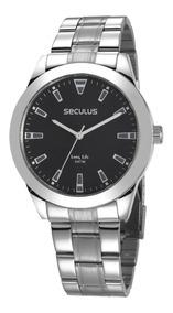 Relógio Seculus Masculino 28980gosvna1