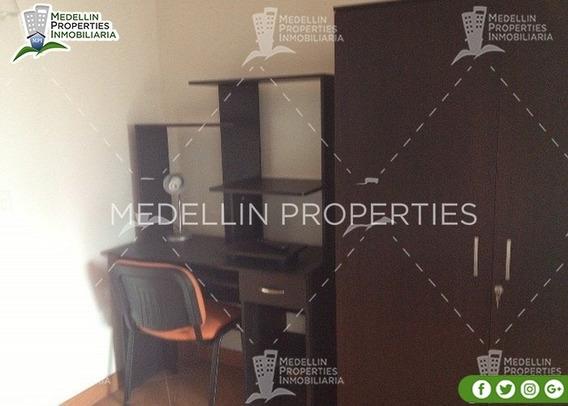 Arrendamientos De Apartamentos Baratos En Medellín Cód: 4674